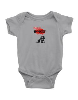 Owned By A Beagle Baby Bodysuit