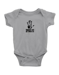 Shared Life , Not Owned Life Baby Bodysuit