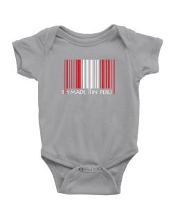 Made in Peru cool design  Baby Bodysuit