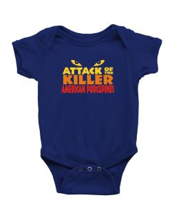 Attack Of The Killer American Porcupines Baby Bodysuit