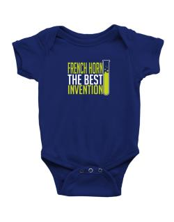 French Horn The Best Invention Baby Bodysuit