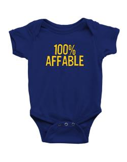 100% Affable Baby Bodysuit