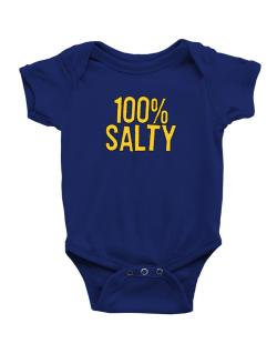 100% Salty Baby Bodysuit