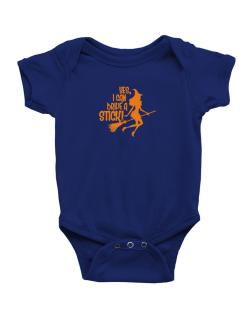 Yes, I Can Drive A Stick! Baby Bodysuit
