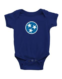 Tennessee Flag Baby Bodysuit