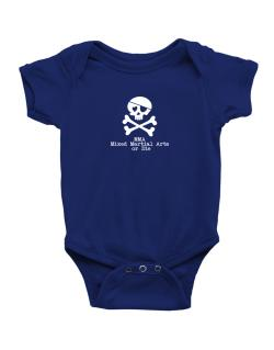MMA Mixed Martial Arts or die Baby Bodysuit