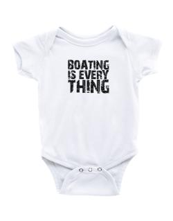 Boating Is Everything Baby Bodysuit