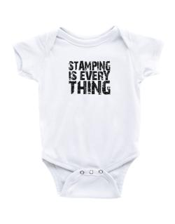 Stamping Is Everything Baby Bodysuit