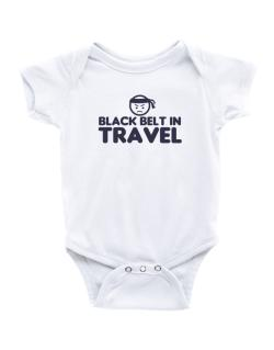 Black Belt In Travel Baby Bodysuit