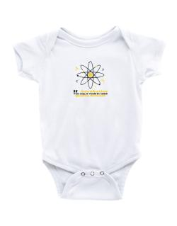 If Aerobatics Were Easy, It Would Be Called Quantum Mechanics Baby Bodysuit