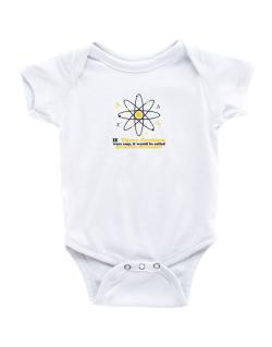 If Three Cushion Were Easy, It Would Be Called Quantum Mechanics Baby Bodysuit