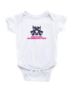 Agricultural Microbiologist Zone - Gas Mask Baby Bodysuit