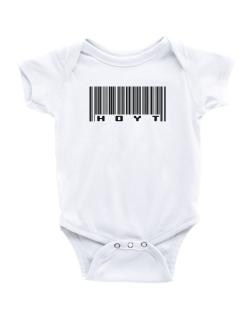 Bar Code Hoyt Baby Bodysuit