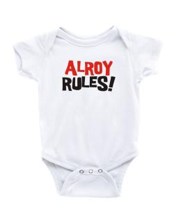 Alroy Rules! Baby Bodysuit