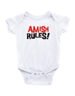 Amish Rules! Baby Bodysuit