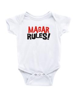 Magar Rules! Baby Bodysuit