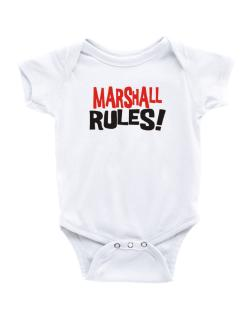 Marshall Rules! Baby Bodysuit