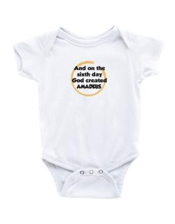 And On The Sixth Day God Created Amadeus Baby Bodysuit