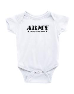 Army Disciples Of Chirst Member Baby Bodysuit