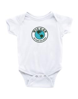 Wiccan Not From This World Baby Bodysuit