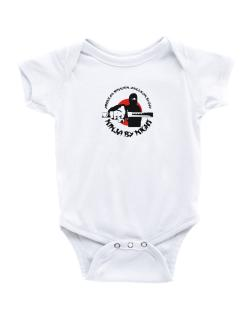 American Mission Anglican By Day, Ninja By Night Baby Bodysuit