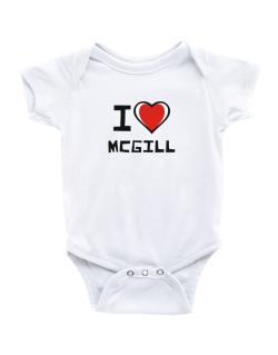 Enterizo de Bebé de I Love Mcgill