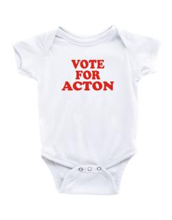 Vote For Acton Baby Bodysuit
