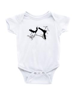Capoeira fight Baby Bodysuit