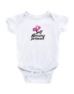 Self Rescuing Princess  Baby Bodysuit
