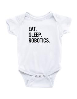Enterizo de Bebé de Eat sleep robotics
