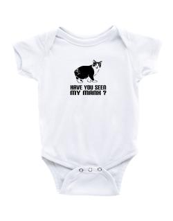 Have you seen my Manx? Baby Bodysuit