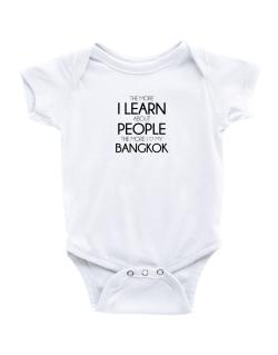 The more I learn about people the more I love my Bangkok Baby Bodysuit
