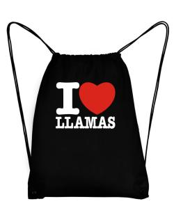 I Love Llamas Sport Bag