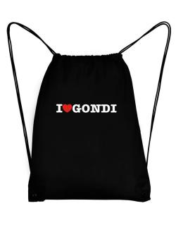 I Love Gondi Sport Bag
