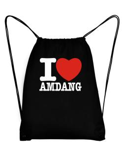 I Love Amdang Sport Bag