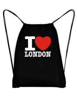 I Love London Sport Bag