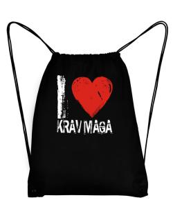 I Love Krav Maga Sport Bag