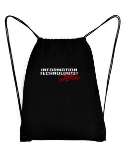 Information Technologist With Attitude Sport Bag