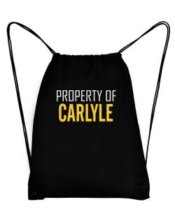 Property Of Carlyle Sport Bag