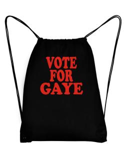 Vote For Gaye Sport Bag