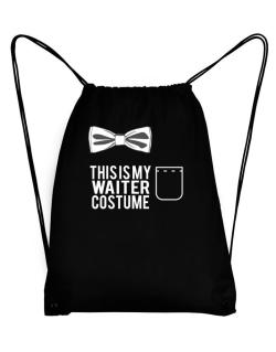 this is my Waiter costume Sport Bag