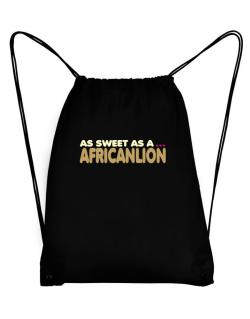 As Sweet As An African Lion Sport Bag