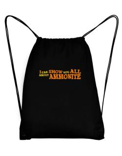 I Can Show You All About Ammonite Sport Bag