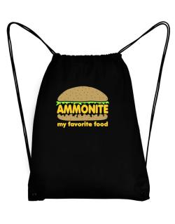 Ammonite My Favorite Food Sport Bag