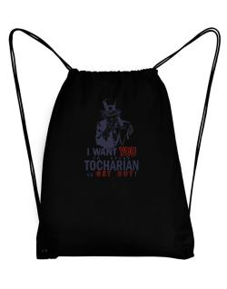I Want You To Speak Tocharian Or Get Out! Sport Bag