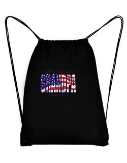 Grandpa Asheville - Us Flag Sport Bag