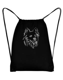 """ Australian Cattle Dog FACE SPECIAL GRAPHIC "" Sport Bag"