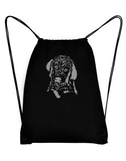 Labradoodle Face Special Graphic Sport Bag