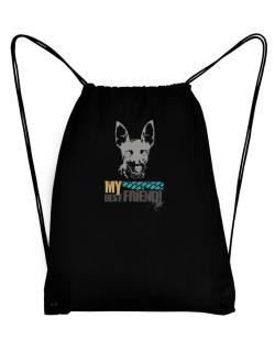 """ Fox Terrier MY BEST FRIEND - URBAN STYLE "" Sport Bag"