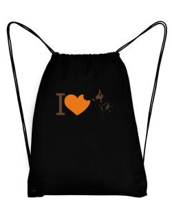 I love Australian Cattle Dogs Sport Bag
